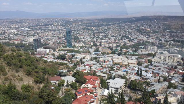 Тбилиси вид сверху 2
