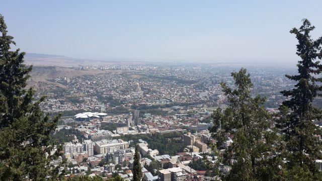 Тбилиси вид сверху 3