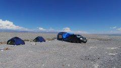 вот такой лагерь был на озере