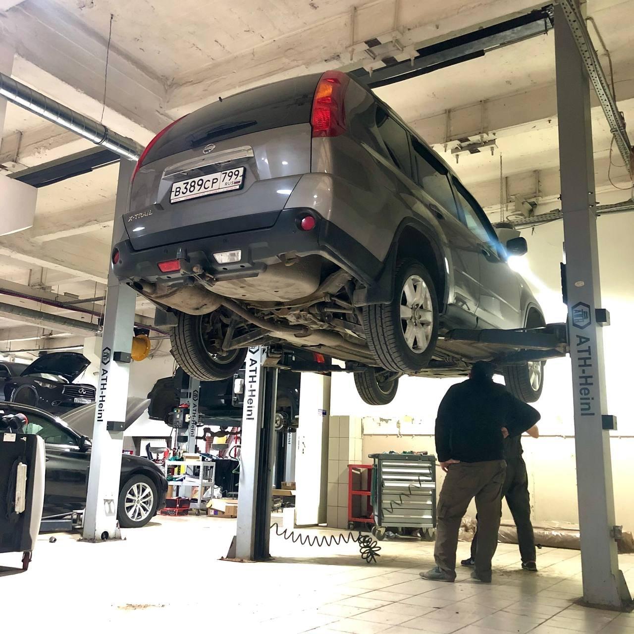 Некоторые неисправности Nissan X-trail